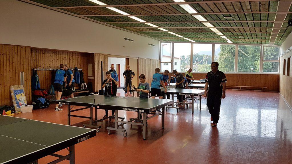VfL Günzburg Tischtennis Inzell Training