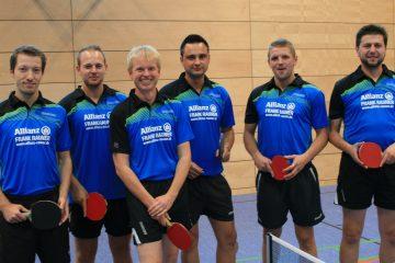 VfL Günzburg Tischtennis 1. Herrenmannschaft 2015/2016