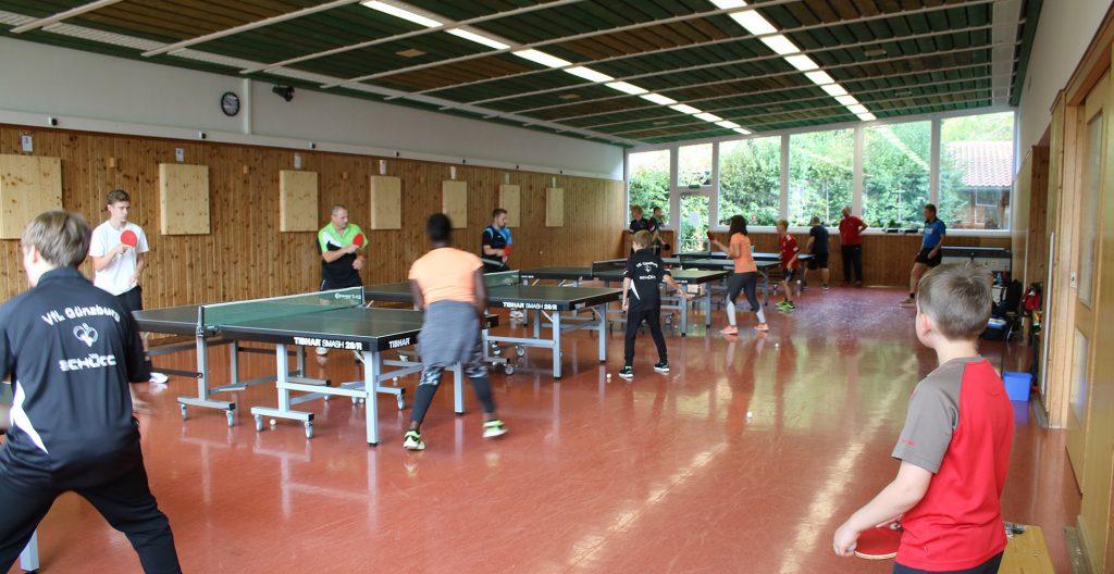 VfL Günzburg Tischtennis Inzell