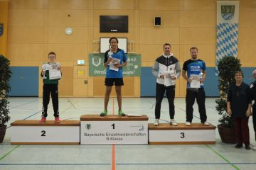 Bayerische Meisterschaften Fabian Lindenmayer