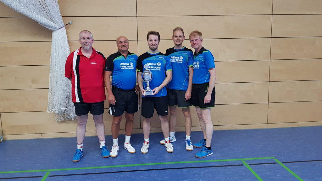 VfL Günzburg Tischtennis Vereinsmeister 2019