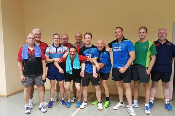 VfL Günzburg Tischtennis Freundschaftsspiel SC Hermaringen