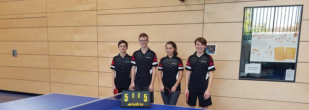 VfL Günzburg Tischtennis 2. Jugendmannschaft